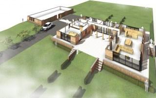 Nieuwbouw woning Mijnsheerenland - Roest Architectuur