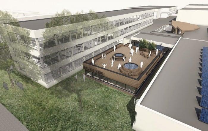 Uitbreiding Rijnlands Lyceum Oegstgeest