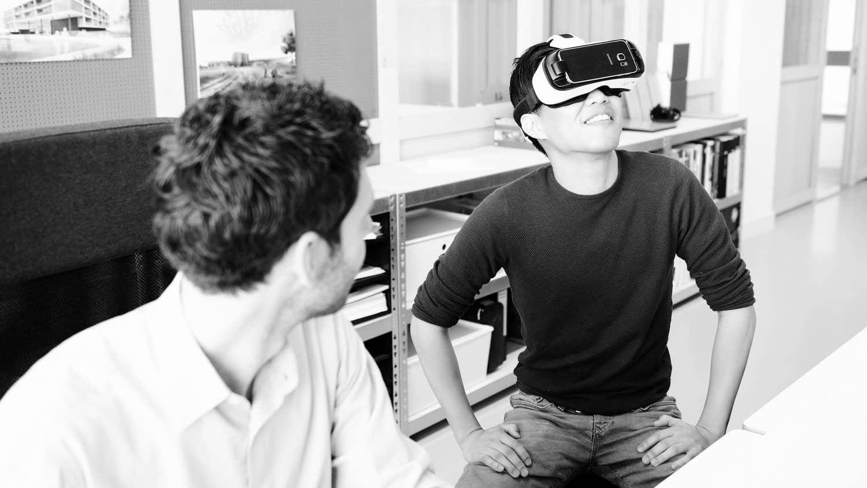 Virtual Realitybril @ Kantoor Rotterdam