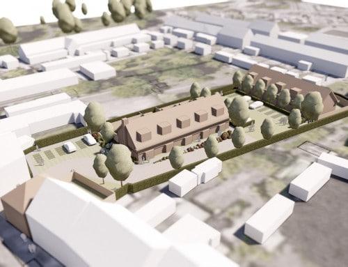 Nieuwbouwproject te Oud Gastel