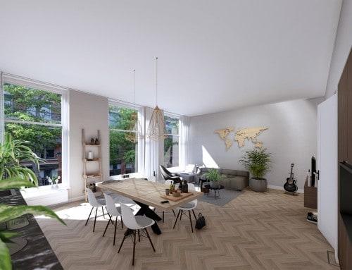 Luxe stadsvilla's aan de Maasstraat!