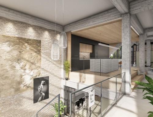 Interieurontwerp Urban Lofts te Rotterdam